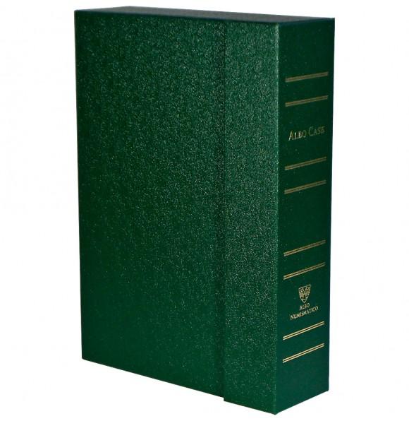 Albo Case на 4 кассеты (48 капсул). Зелёный