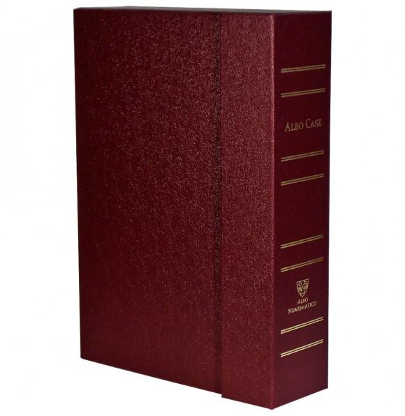 Albo Case на 4 кассеты (48 капсул). Бордовый