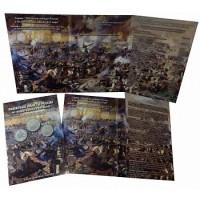 Альбом-планшет для 2, 5-руб монет к 200-летию Победы России в войне 1812 года.