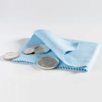 Салфетка для чистки и полировки монет, микрофибра, Leuchtturm