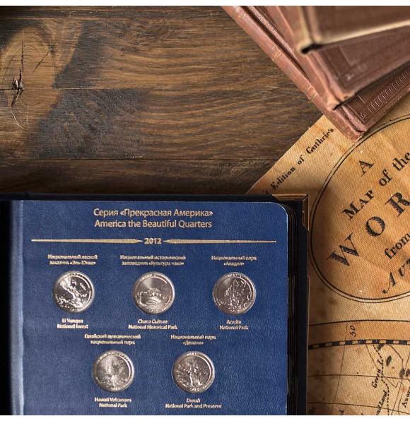 Серия памятных монет США «Прекрасная Америка» (25 центов). Серия «standard»