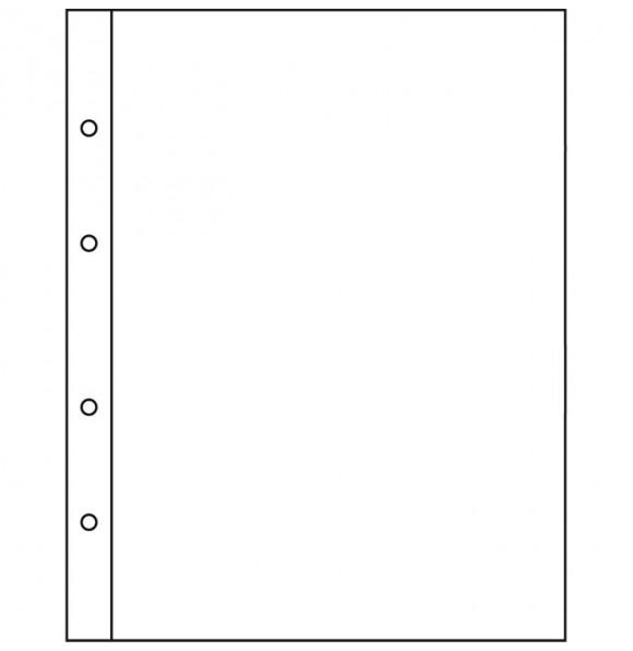 Лист для банкнот NUMIS, 1 ячейка, прозрачный(5 штук), Leuchtturm